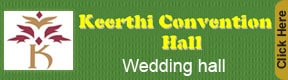 keerthi convention hall