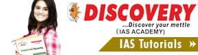 Discovery The Ias Academy
