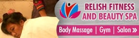 RELISH FITNESS AND BEAUTY SPA