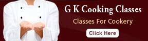 G K Cooking Classes