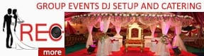 REC GROUP Events DJ Setup and Catering