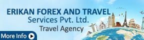 ERIKAN FOREX AND TRAVEL SERVICES PVT. LTD.