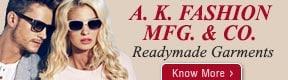 A.K. FASHION MFG. & CO.