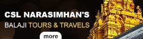 CSL NARASIMHAN BALAJI TOURS AND TRAVELS