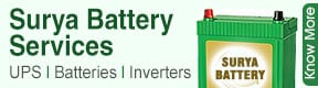 Surya Battery Services