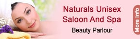 NATURALS UNISEX SALOON AND SPA