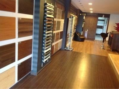 Inside View Of Wooden Flooring Shop