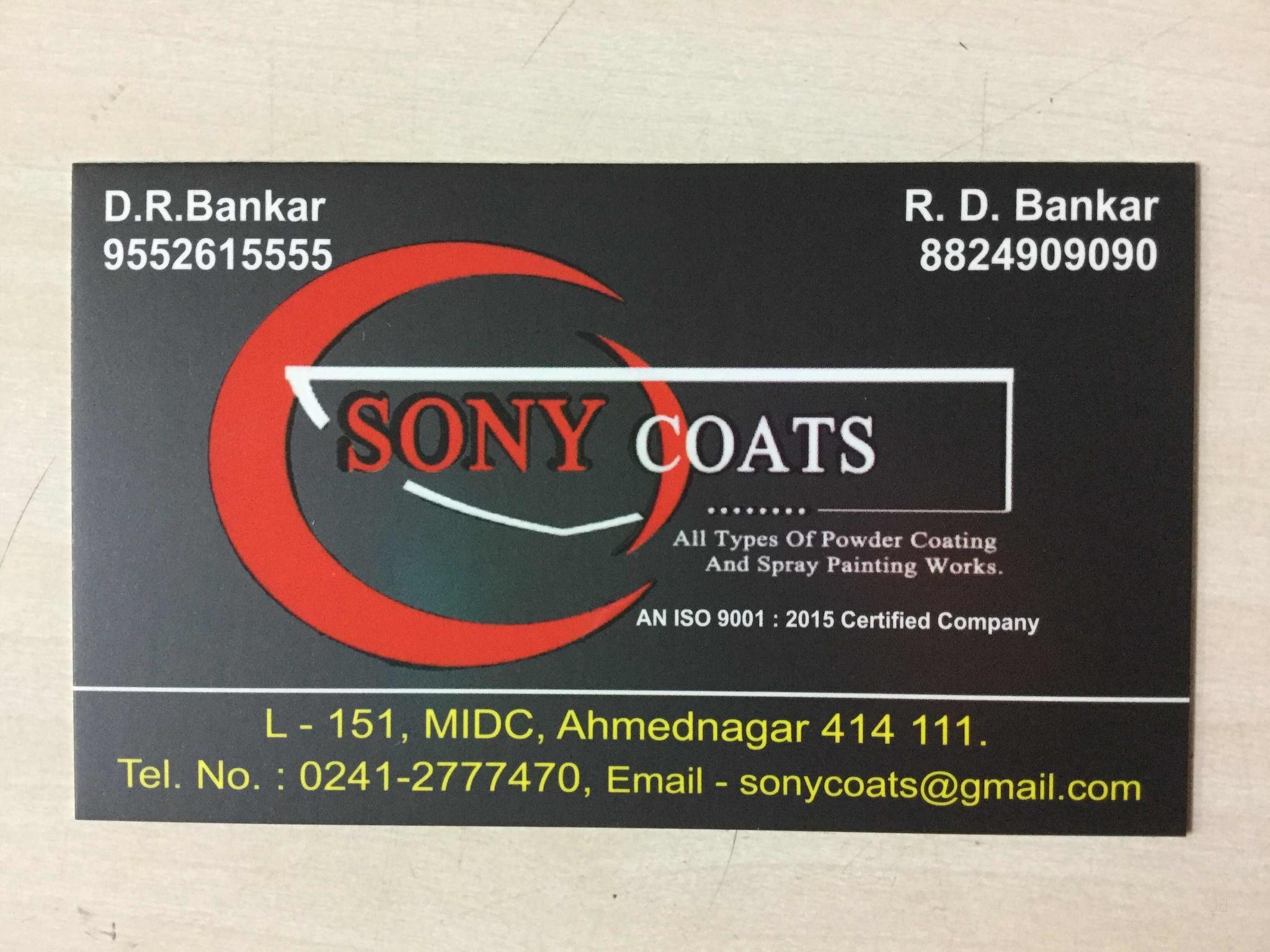 Sony Coats, Ahmednagar MIDC - Powder Coating Services in ...