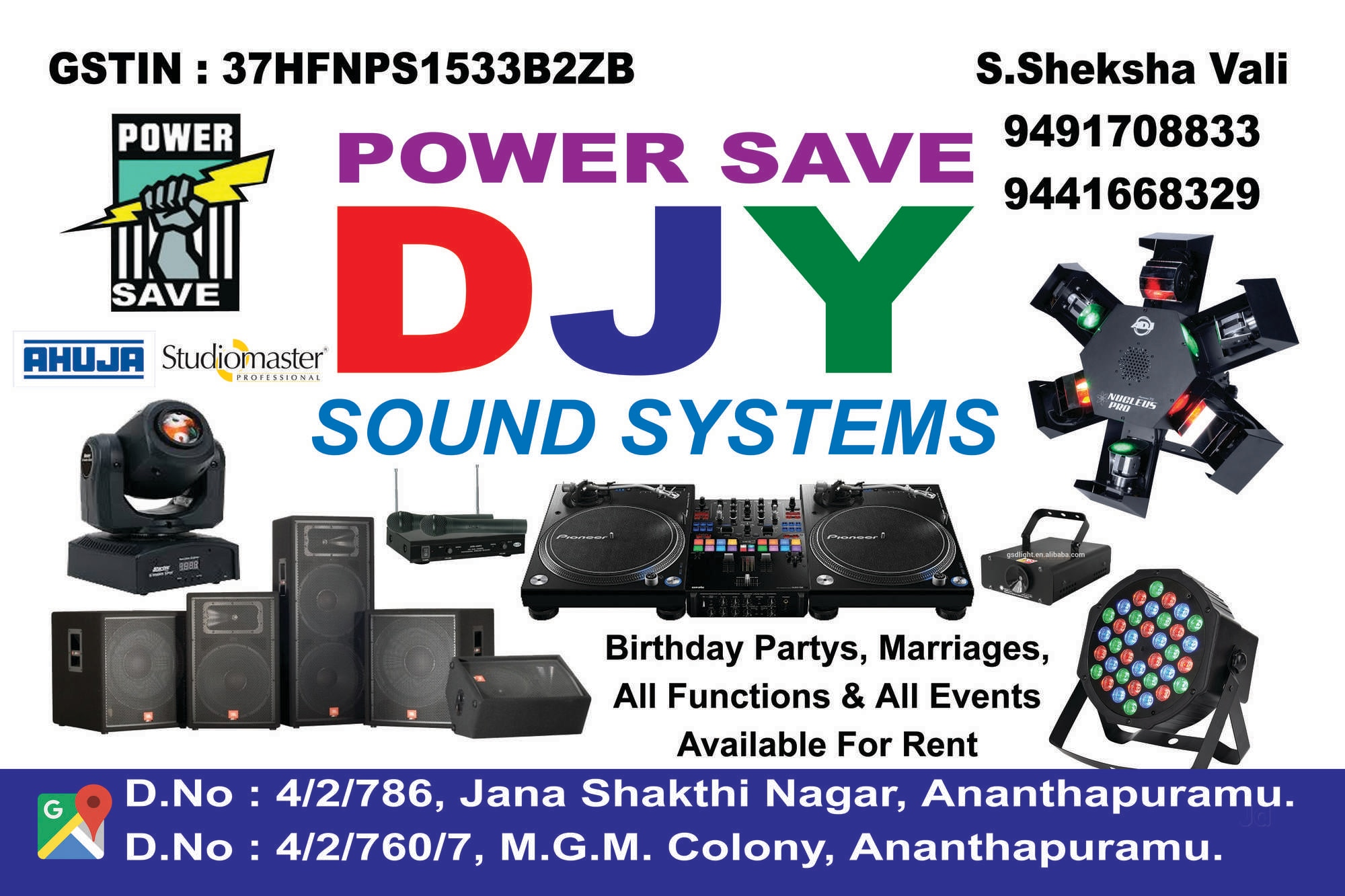 Top 20 Sound Systems On Hire in Anantapur - Best Sound