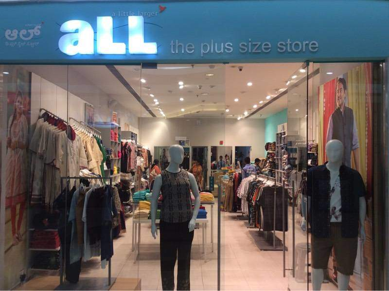 all the plus size store, malleswaram - readymade garment retailers