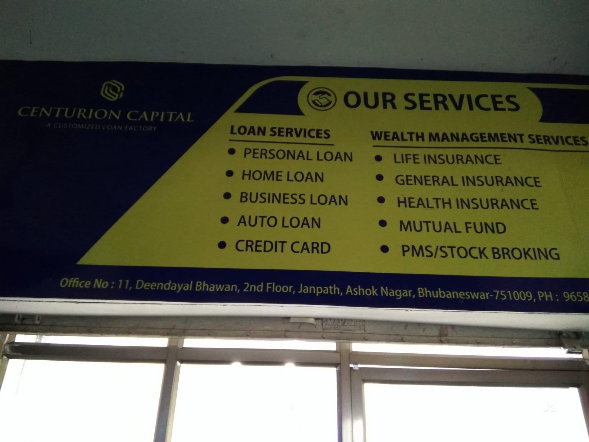 Centurion Capital, Ashok Nagar - Personal Loans in Bhubaneshwar ...