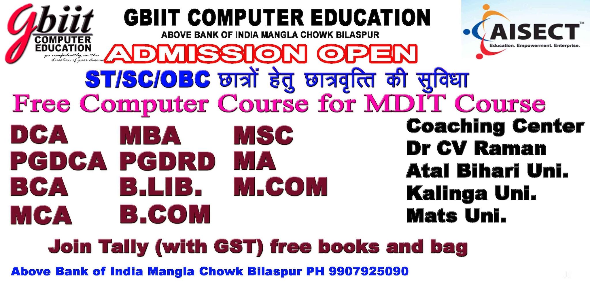 Top 100 Computer Classes in Bilaspur Chhattisgarh - Best