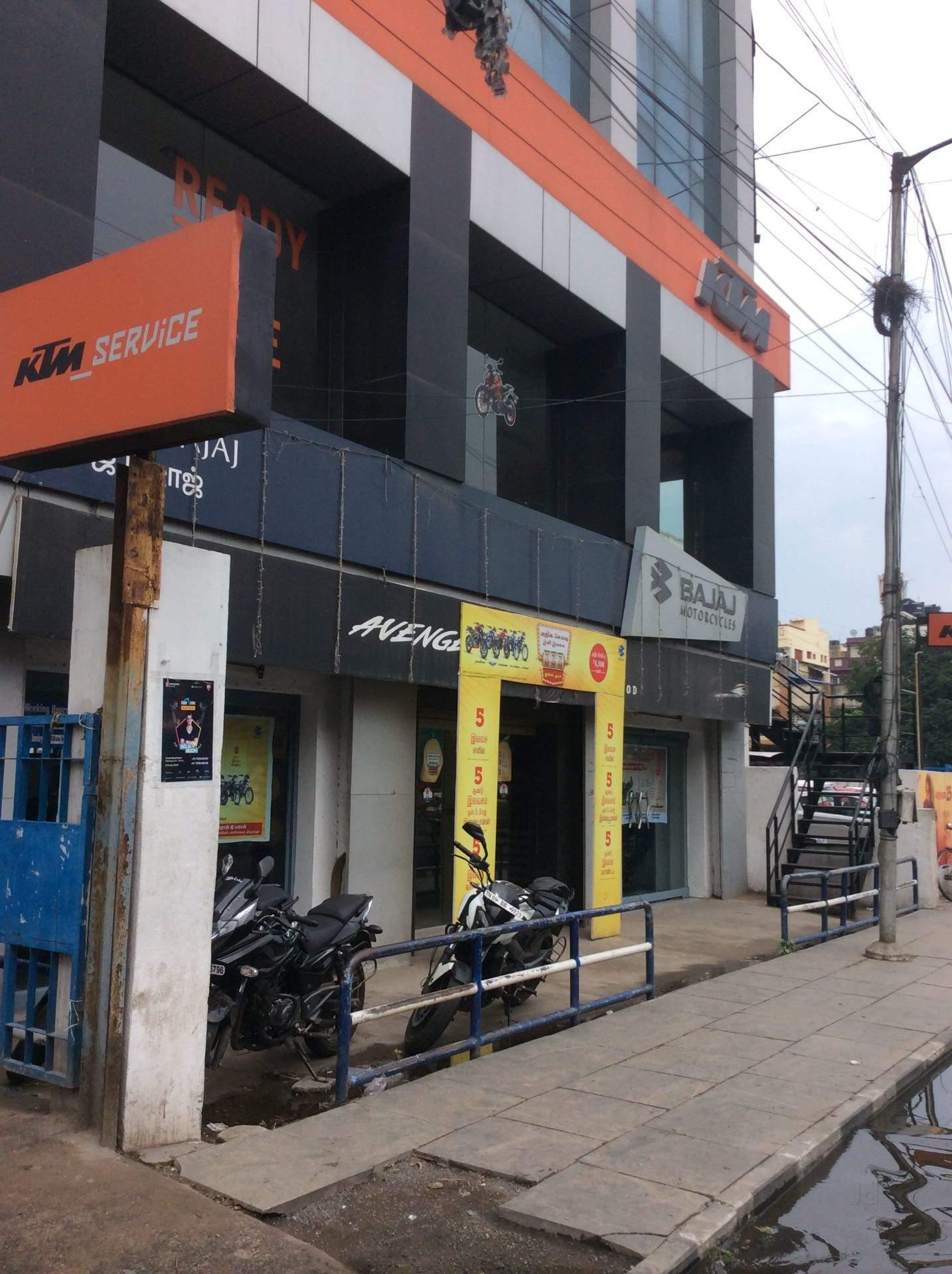 Top 10 Bajaj Showrooms in Thiruverkadu - Bajaj Bike Dealers