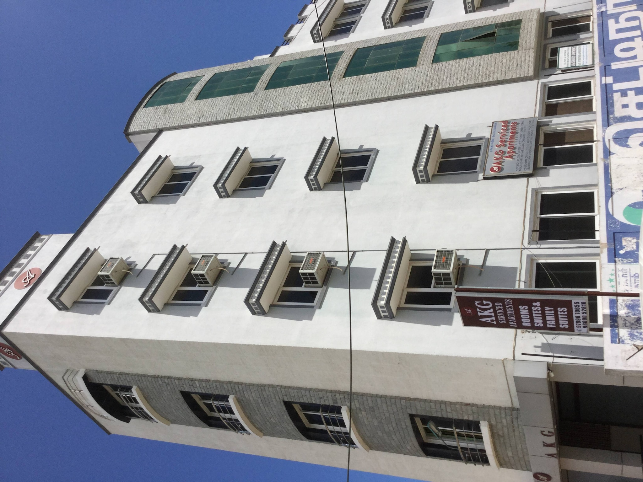 ... Exterior View Of The Guest House   AKG Serviced Apartments Photos,  Kelambakkam, ...