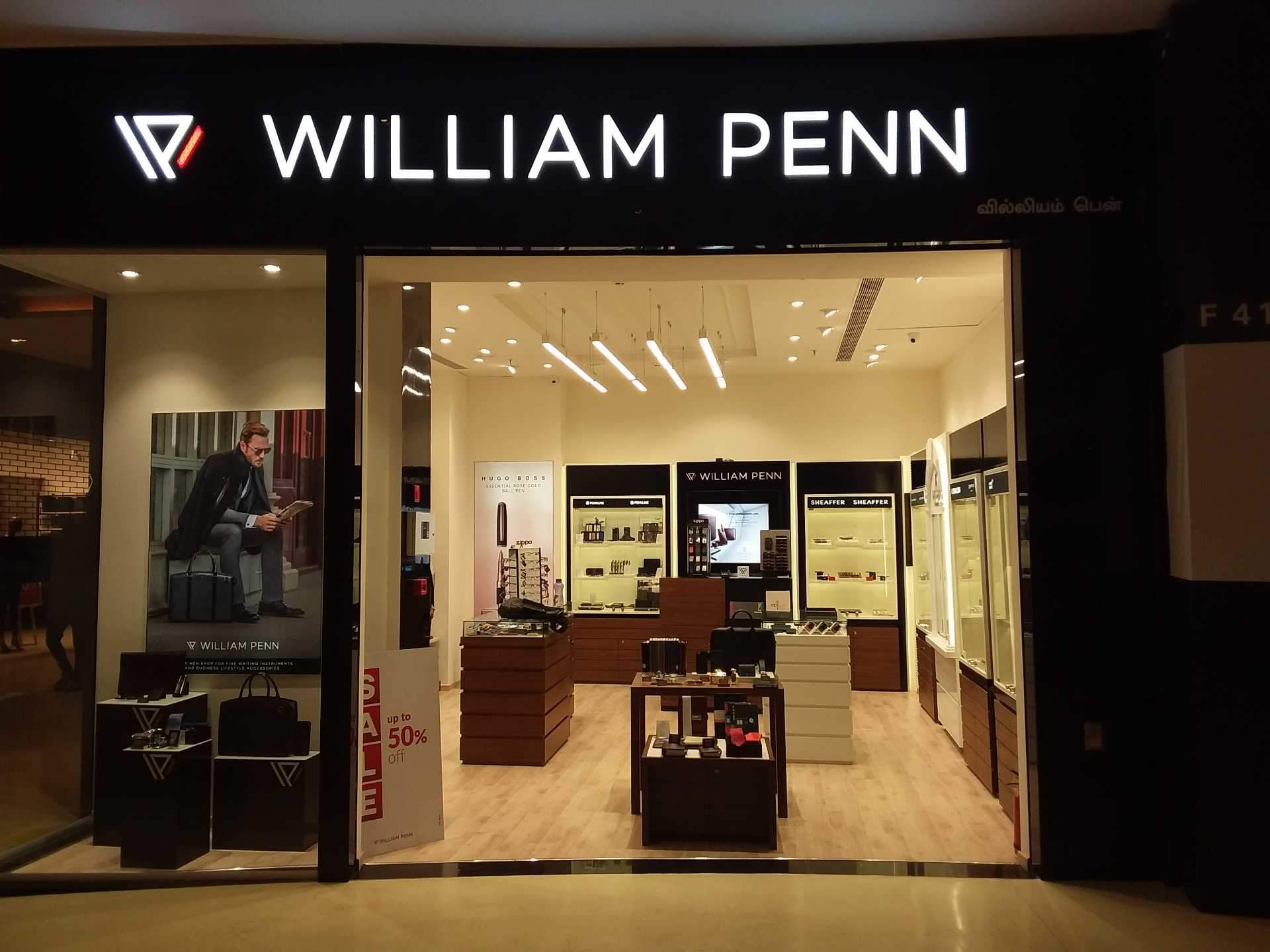 Find List Of William Penn S In Anna Nagar