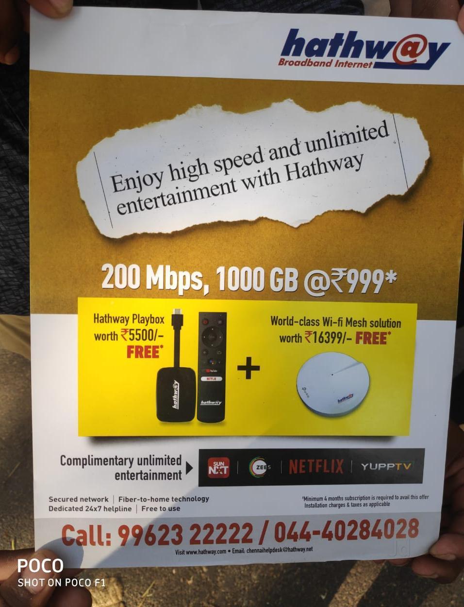 Top 30 Internet Service Providers in Adambakkam - Best Broadband