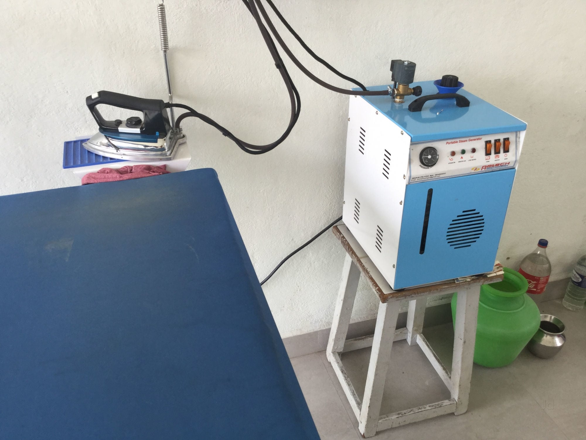 Bhagavathi Steam Ironing Kalapatti Laundry Services in