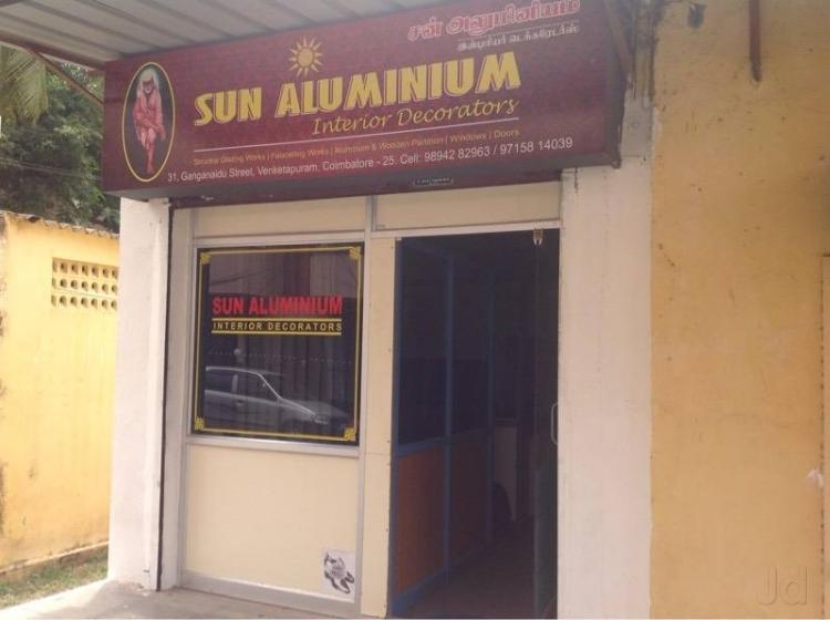 Sun Aluminium Interior Decorators Velandipalayam Coimbatore