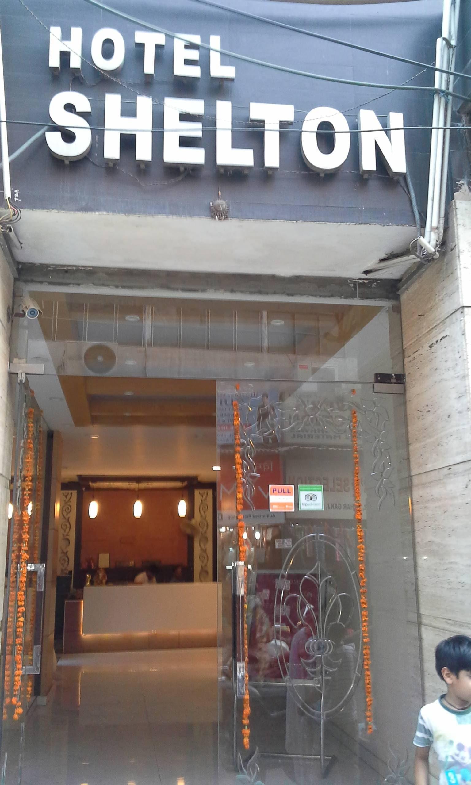 Front View Of Hotel Shelton Photos Pahar Ganj Delhi 3 Star
