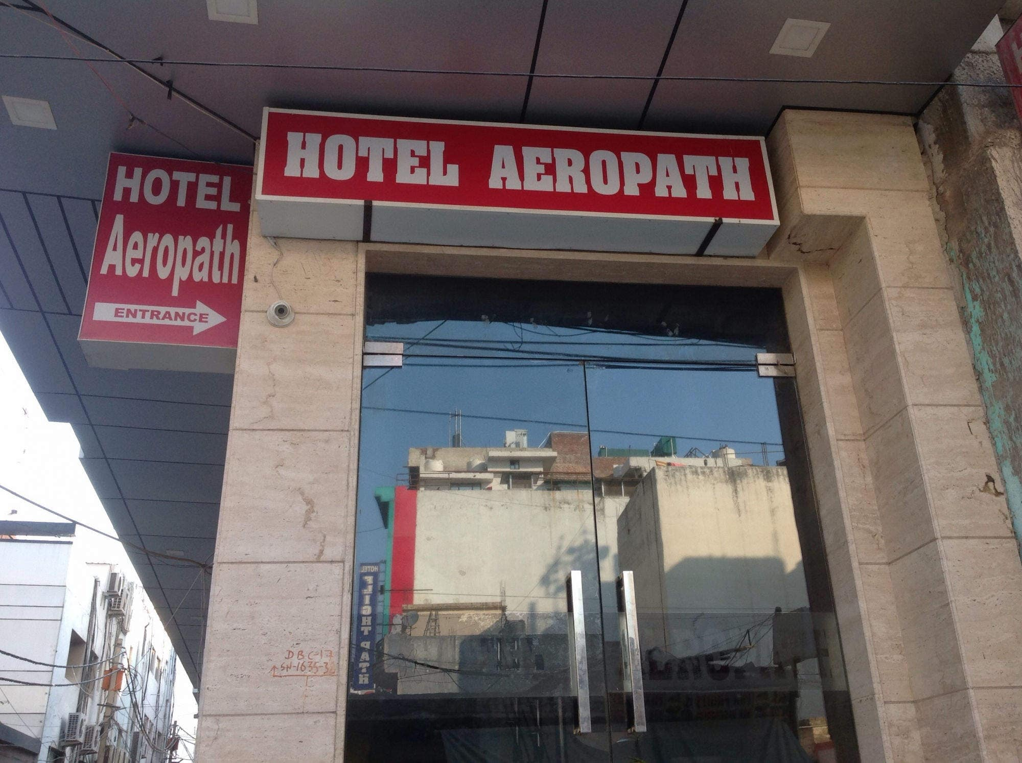 Front View Hotel Aeropath Photos Mahipalpur Delhi Hotels Rs 1001 To