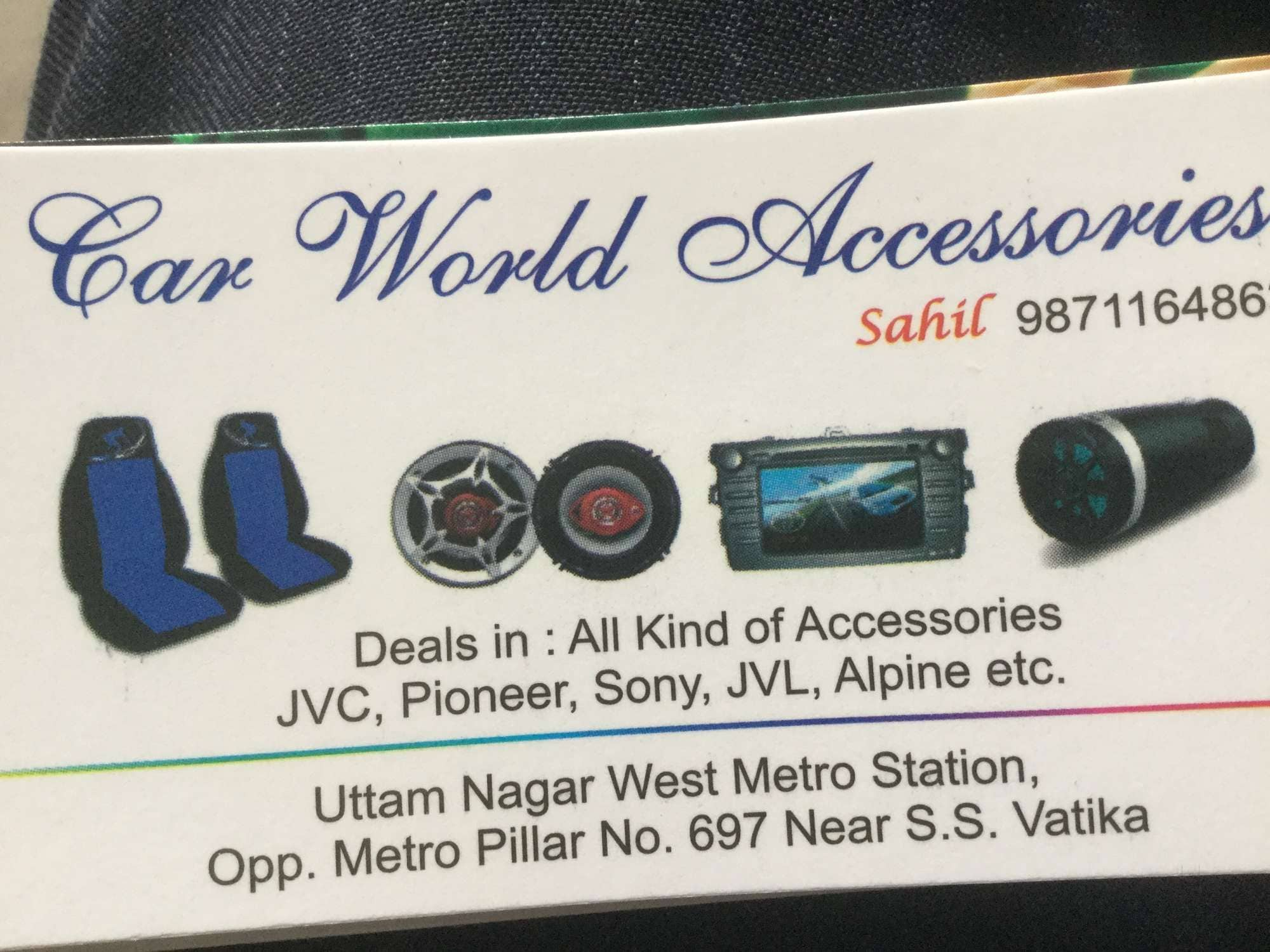 Car World Accessories Photos, Uttam Nagar, Delhi-NCR- Pictures ...