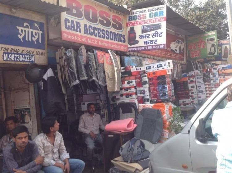 Boss Car Accesories Kashmere Gate Car Accessory Dealers In