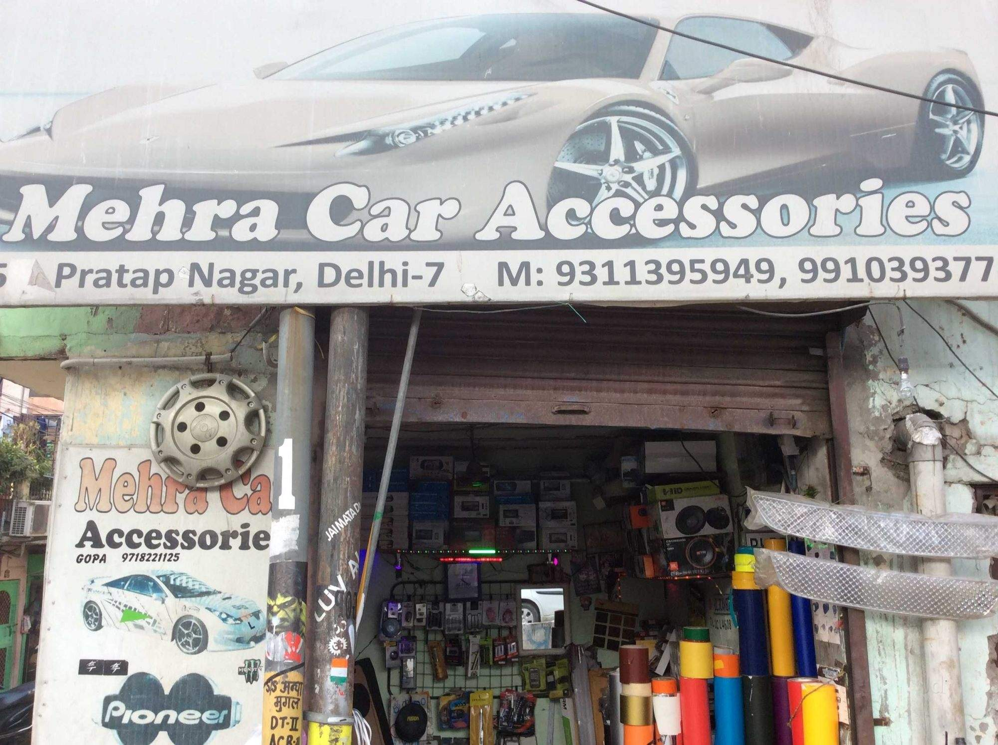 Mehra Car Accessories, Pratap Nagar - Car Accessory Dealers in Delhi ...
