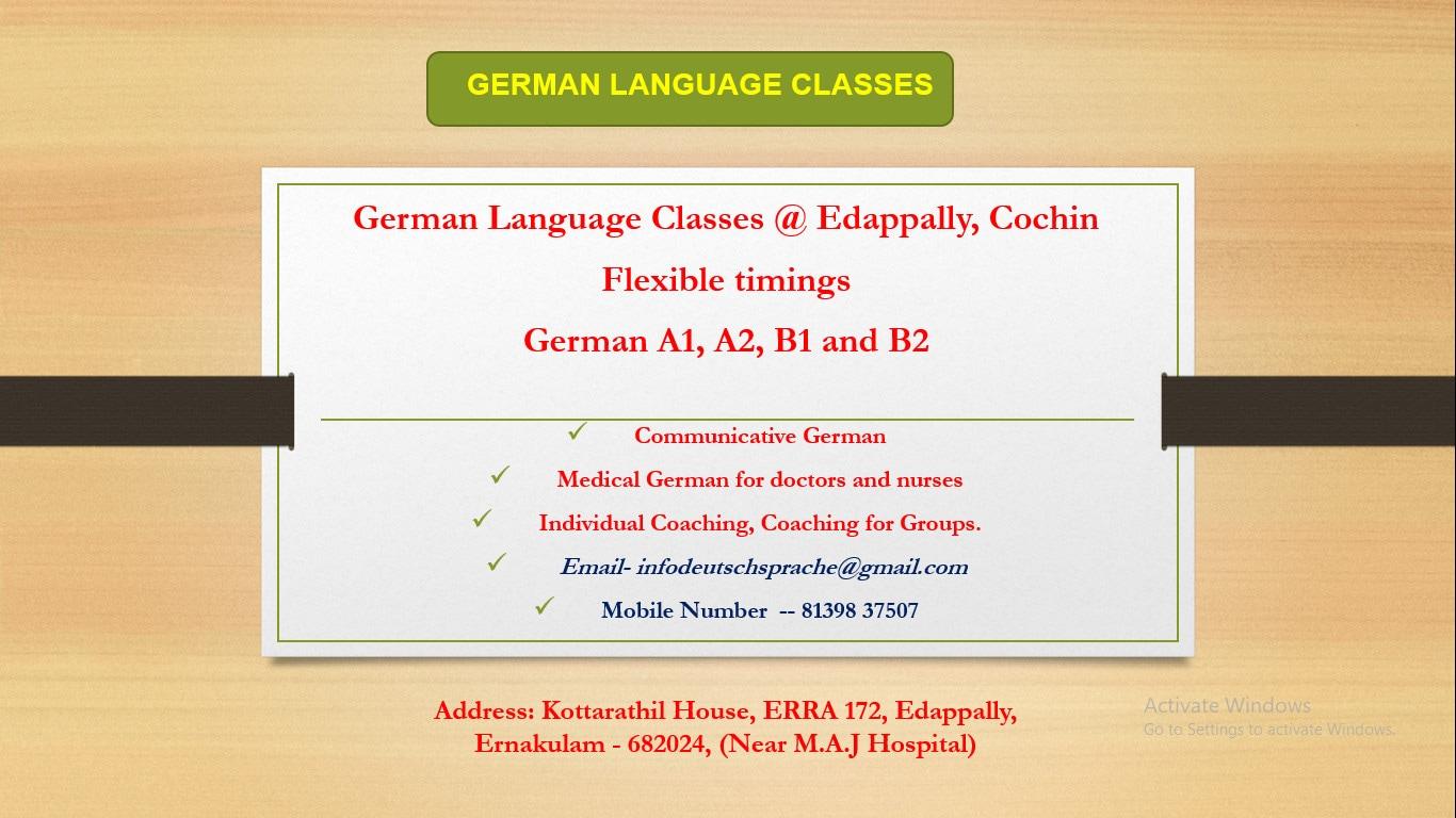 Top 30 German Language Classes in Vyttila - Best German