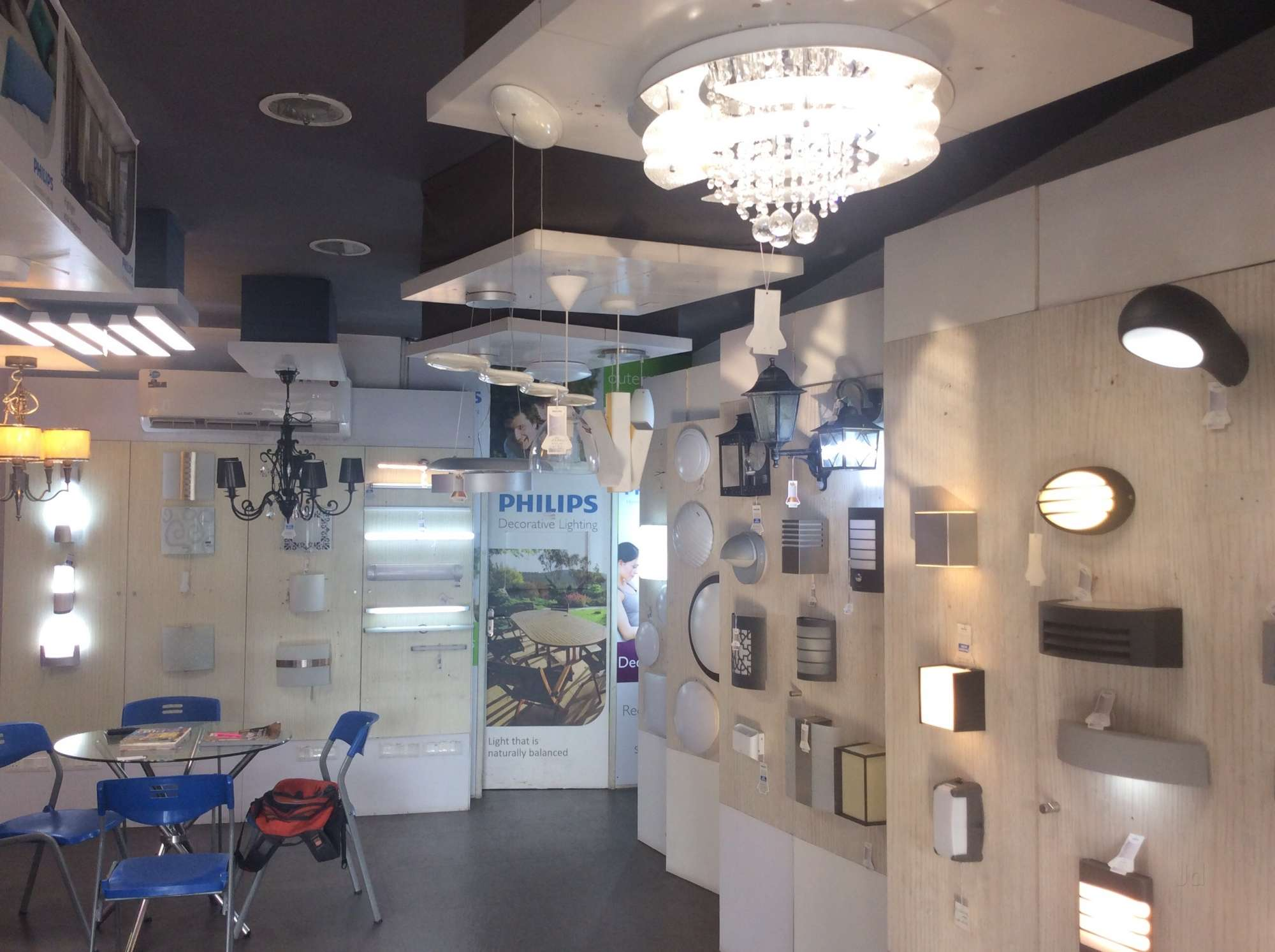 Philips lighting fixtures showrooms lighting designs qrs philips light lounge chittoor road led dealers in arubaitofo Image collections