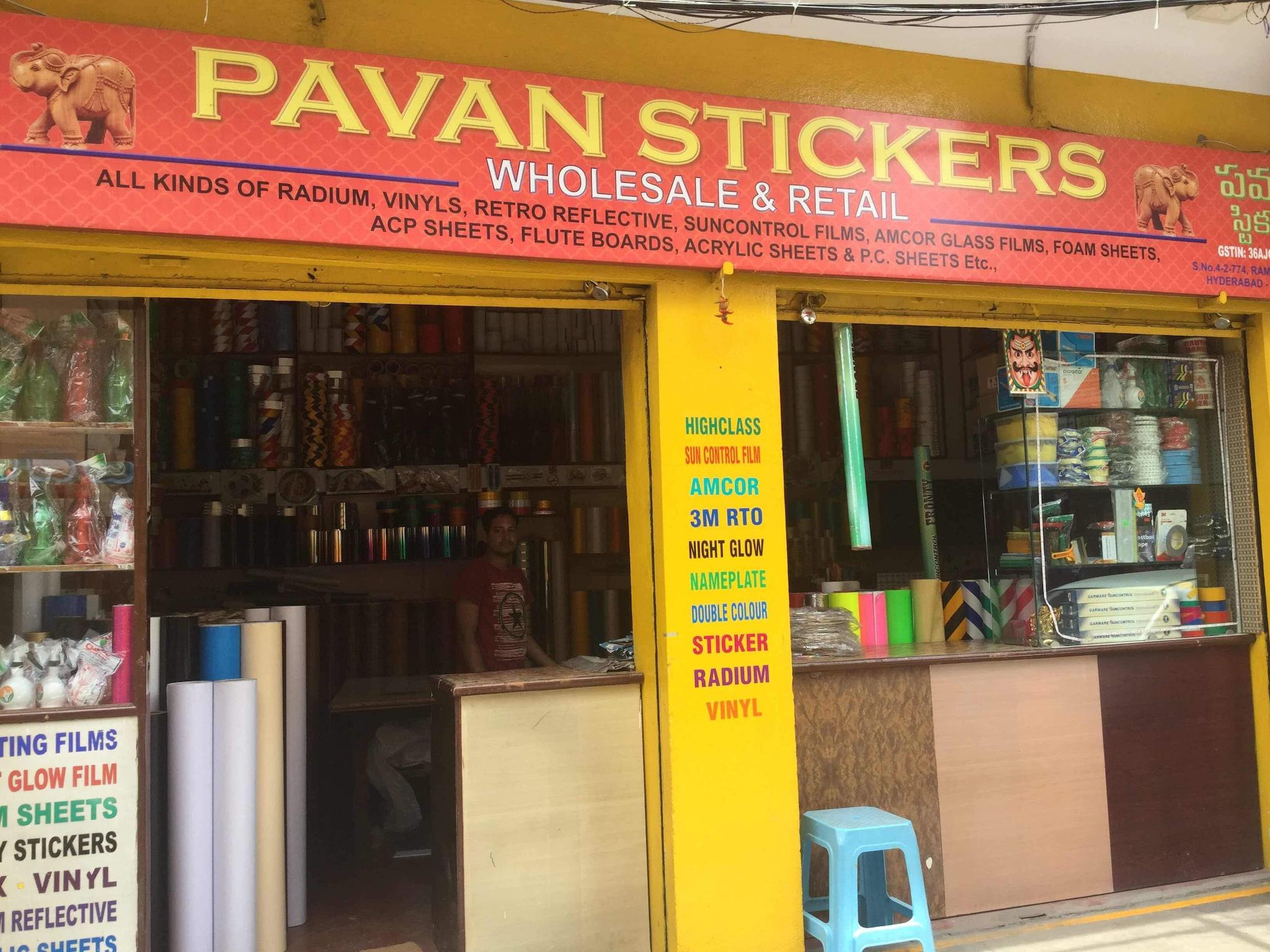 Top 10 sticker dealers in new mallepally best plain sticker dealers hyderabad justdial