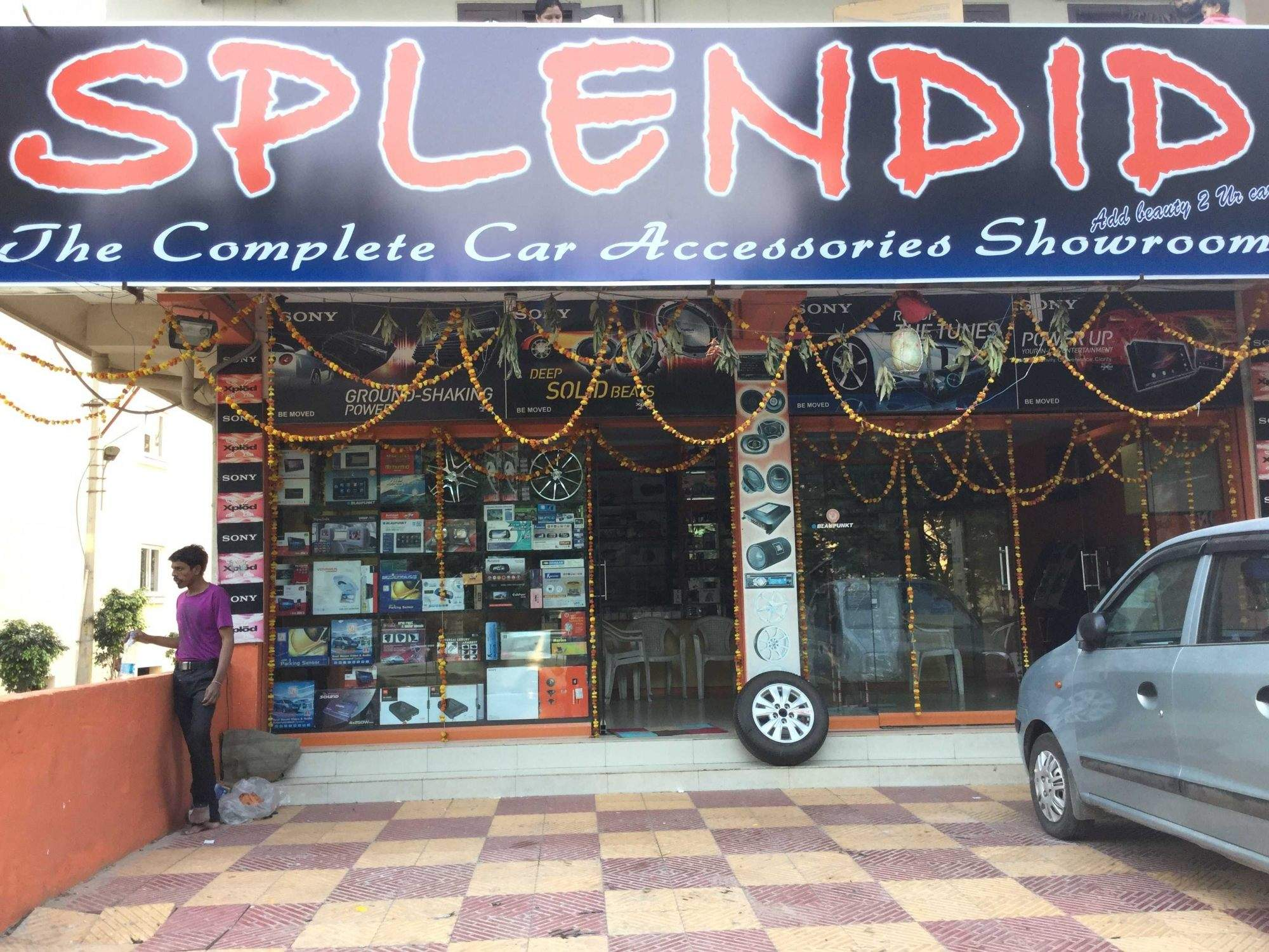 Splendid Car Accessory & Decors, Kondapur - Tyre Dealers-MRF in ...