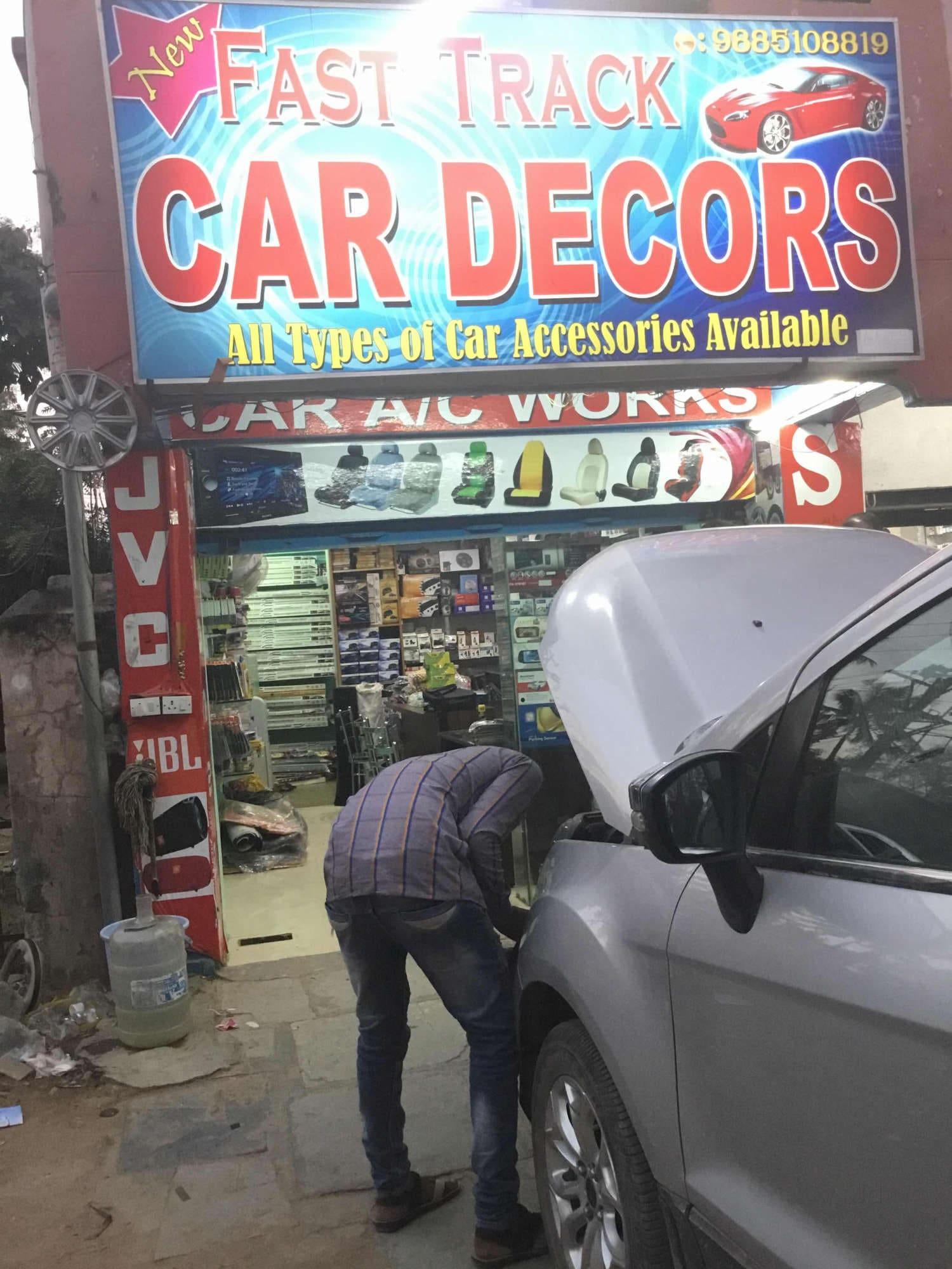 New Fast Track Car Decors, Nizampet - Car AC Repair & Services in ...