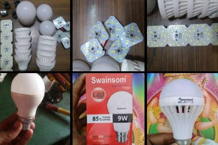 Top Led Bulb Raw Material Manufacturers in Secunderabad