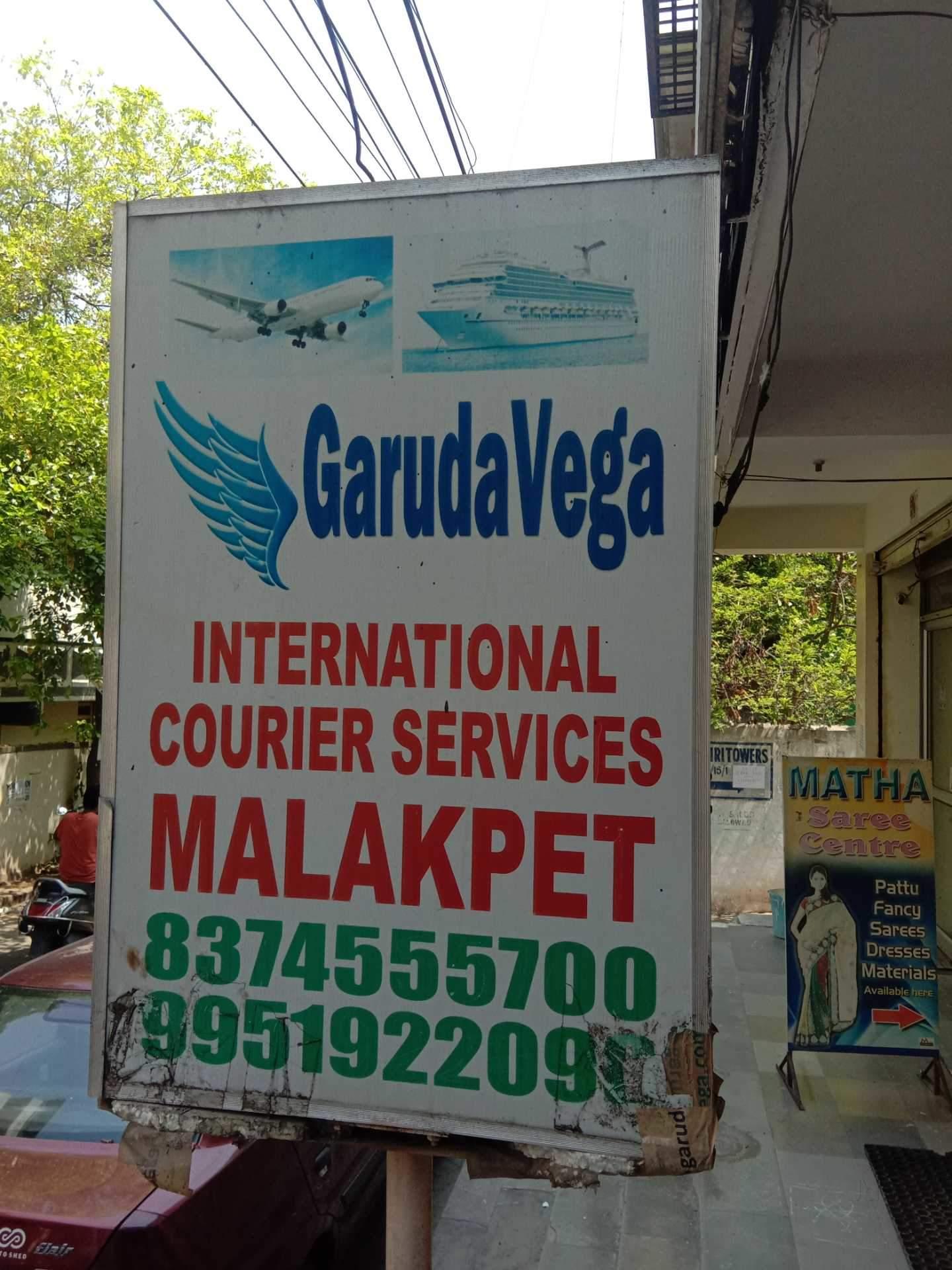 Top 30 Garudavega International Courier Services in