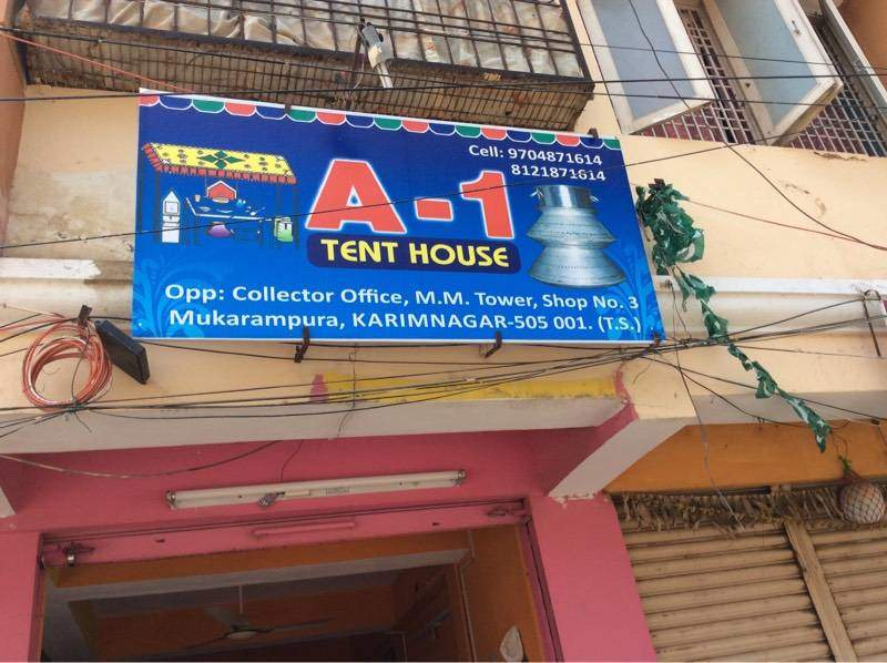 & A1 Tent House - Tent House in Karimnagar - Justdial