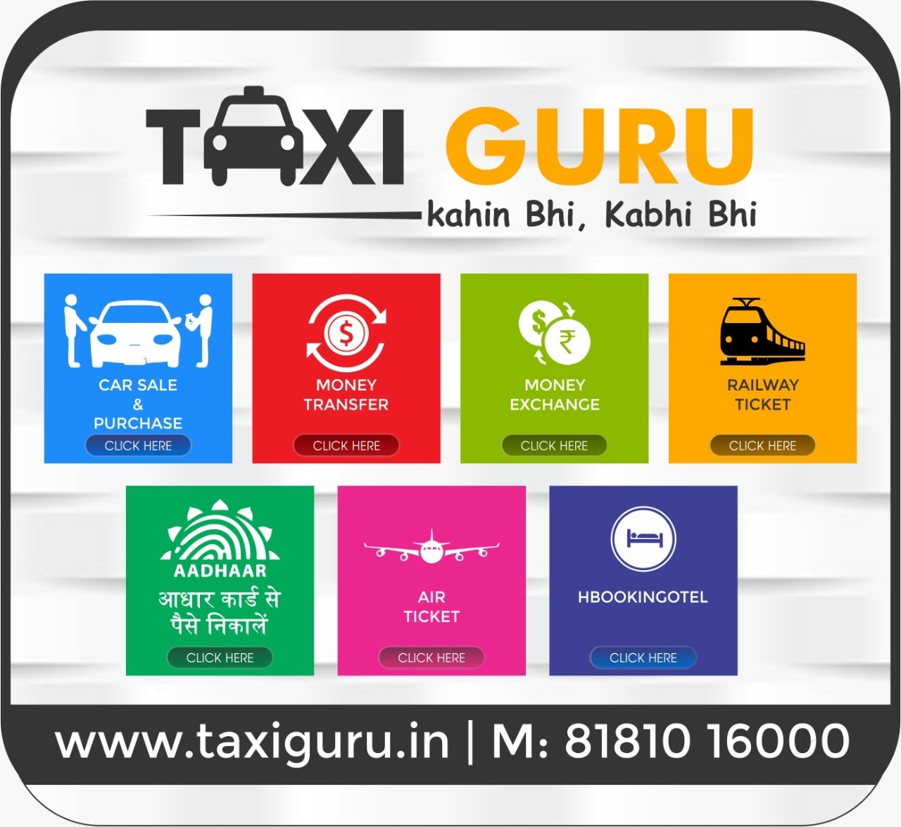 Top 30 Taxi Services in Karnal - Best Cab Booking - Justdial