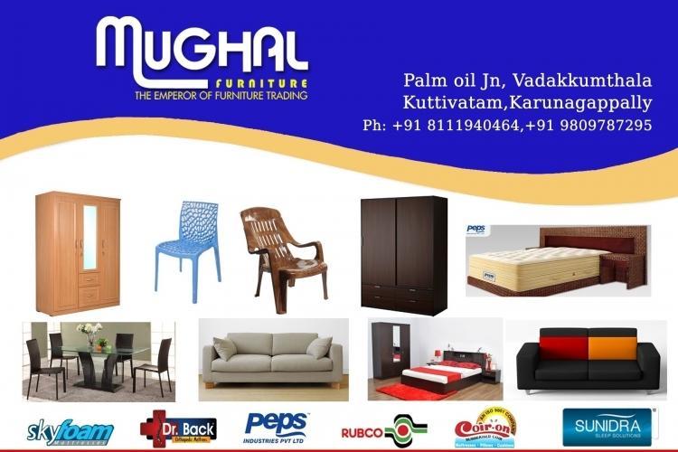 Mughal Furniture Karunagappally Kollam - Furniture Dealers