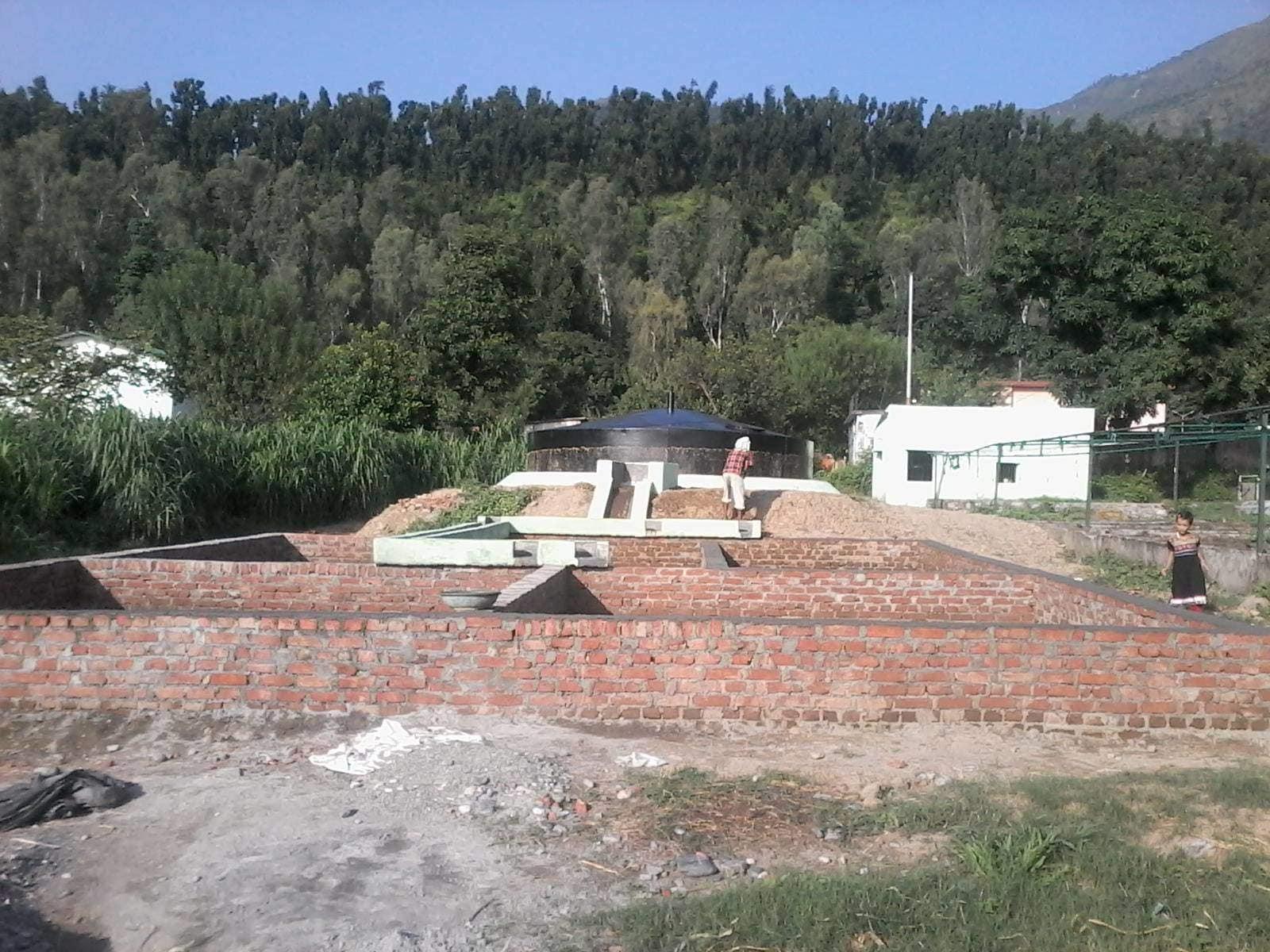 Shiva Biogas Agency Aliganj Bazar Biogas Generator