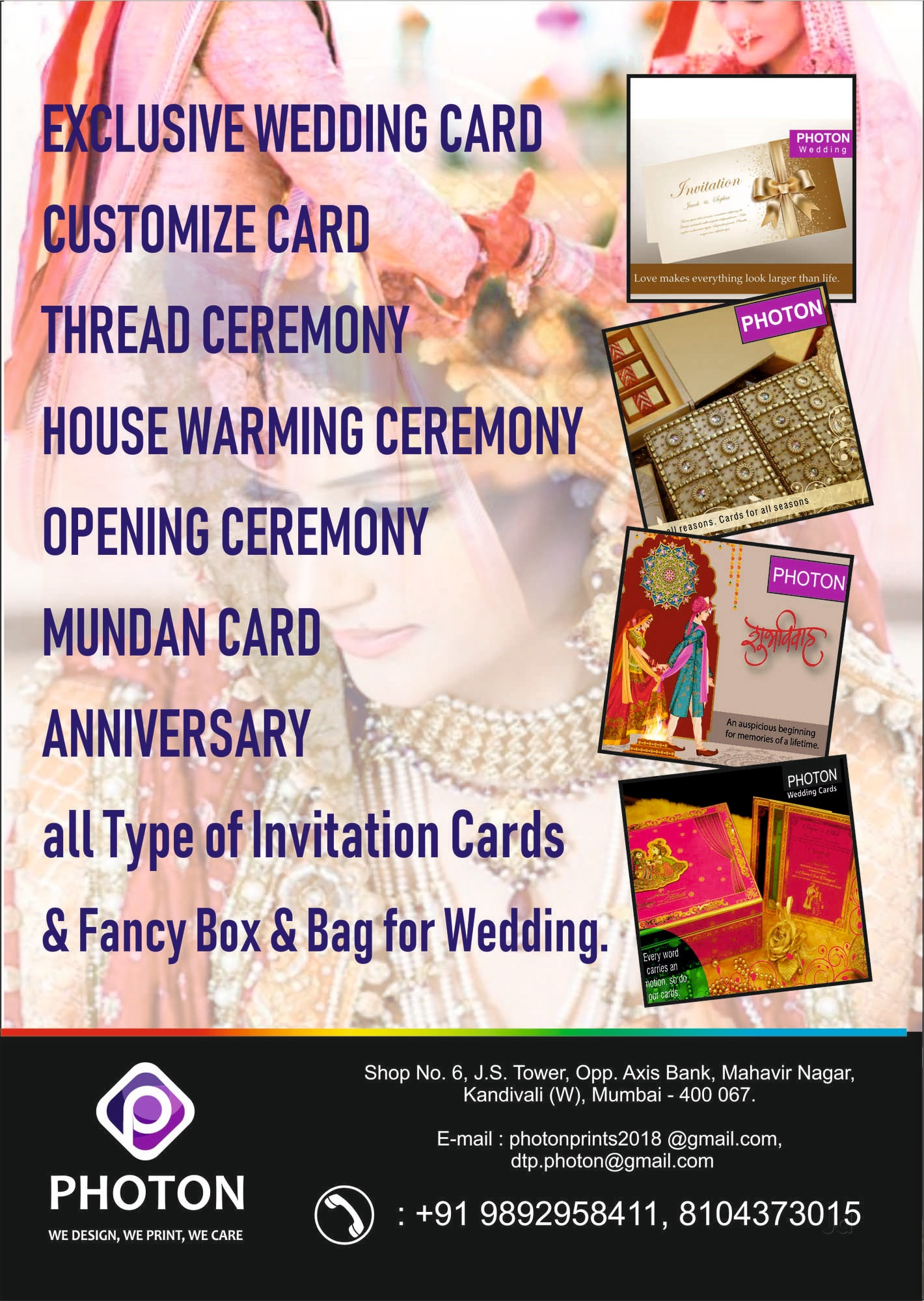 Hair Cutting Ceremony Invitation Cards