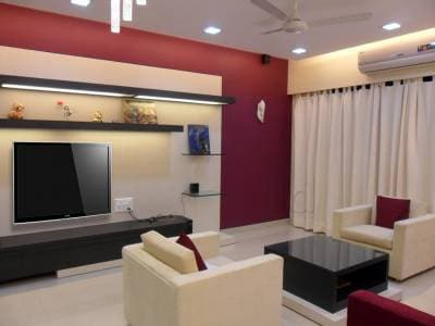 ... Living Room Interior Design   Miracle Design Photos, Kandivali West,  Mumbai   Interior Designers ...