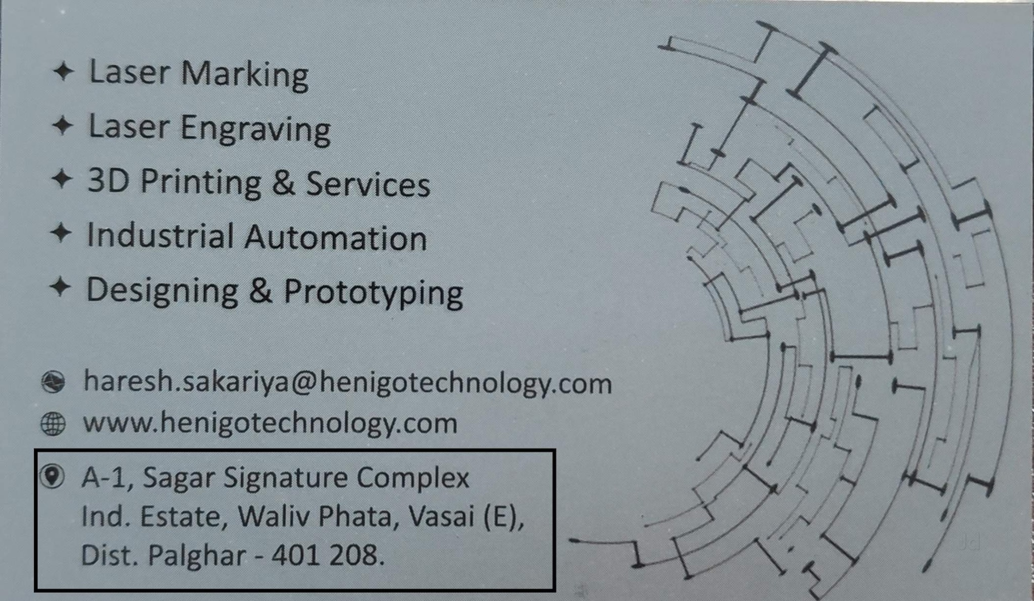 Top 30 Laser Marking Services On Gold in Vasai East, mumbai ... Har Irrigation Wiring Diagram on