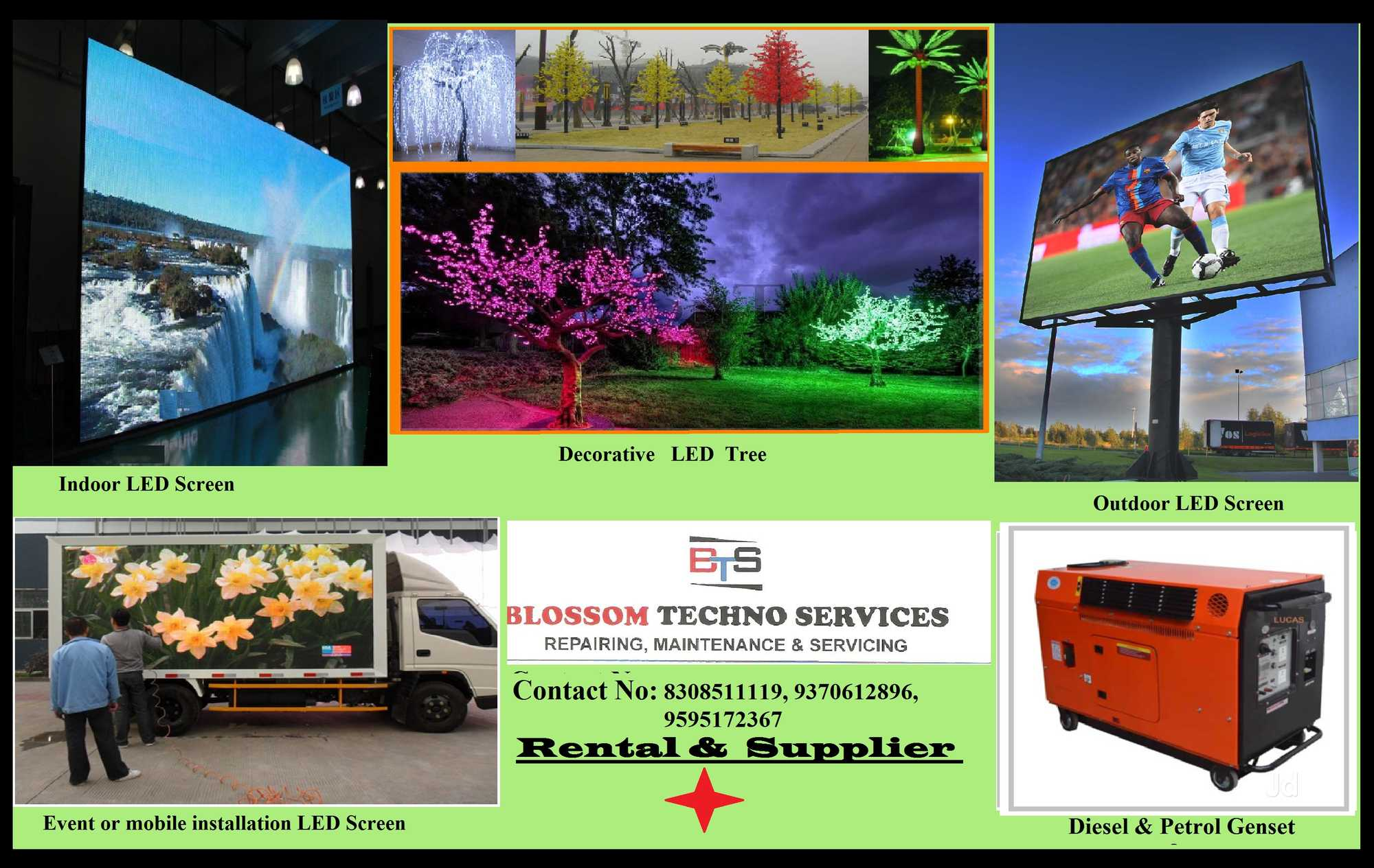 Top 10 Led Screens On Hire in Goa - Best Led Screen On Rent