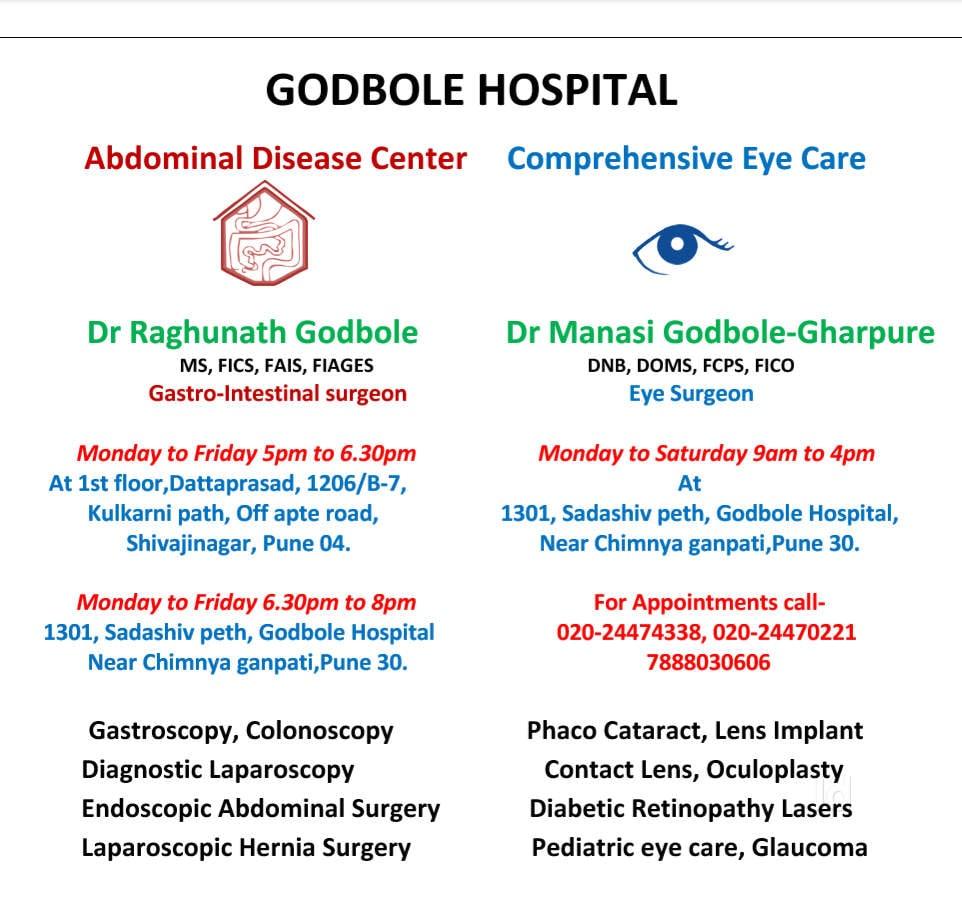Top 10 Eye Hospitals in Sadashiv Peth - Best