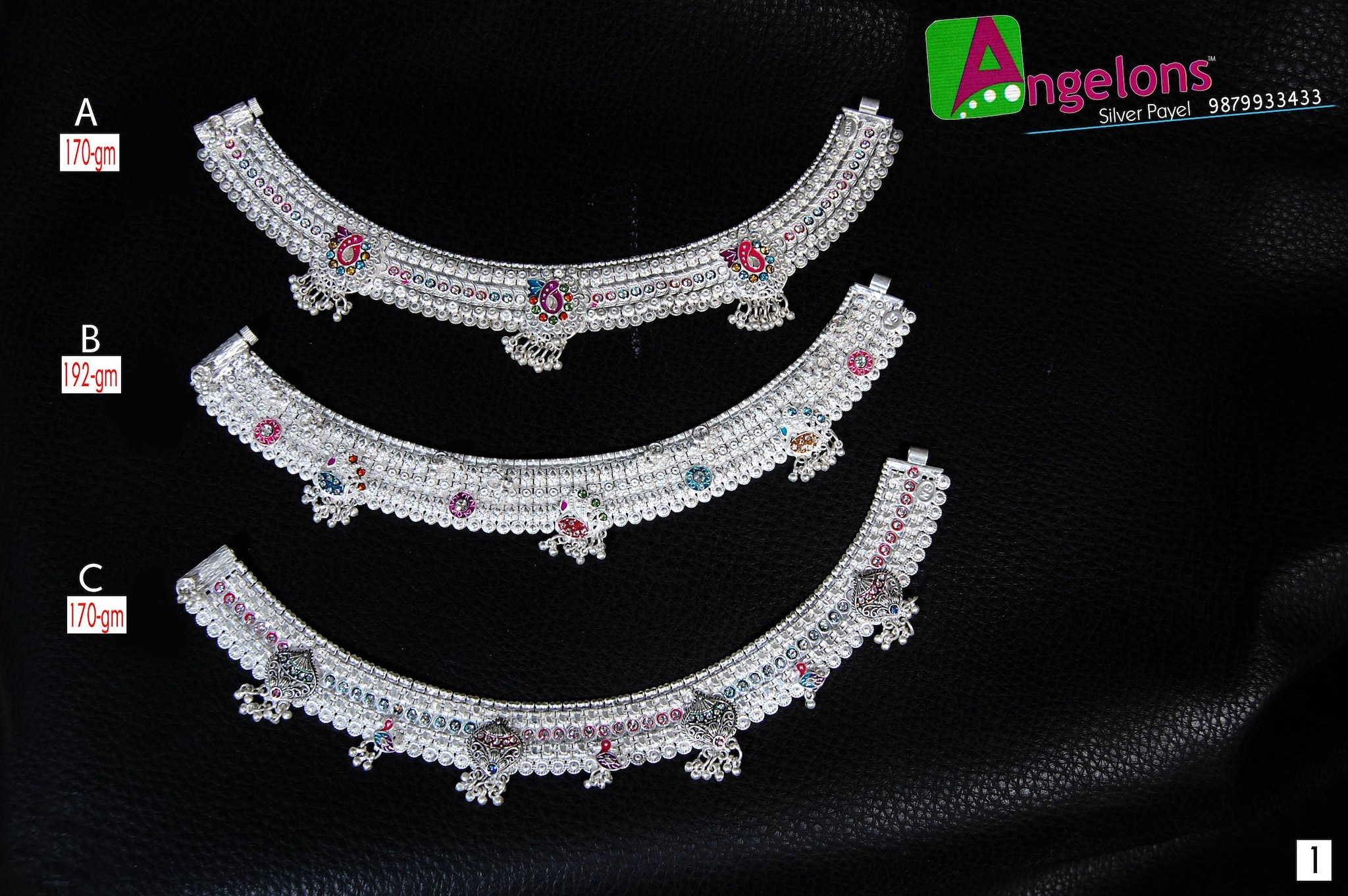 Angelons Silver Payal, Ranchhodnagar - Jewellery Showrooms in ...
