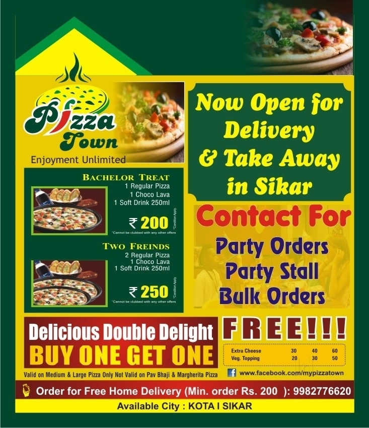 Top 10 Pizza Delivery Services in Kheerwa - Best Pizza Home