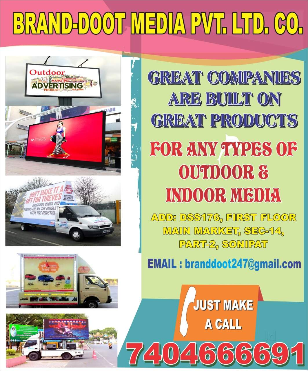 Top Advertising Agencies For Digital Media in Rai, Sonepat