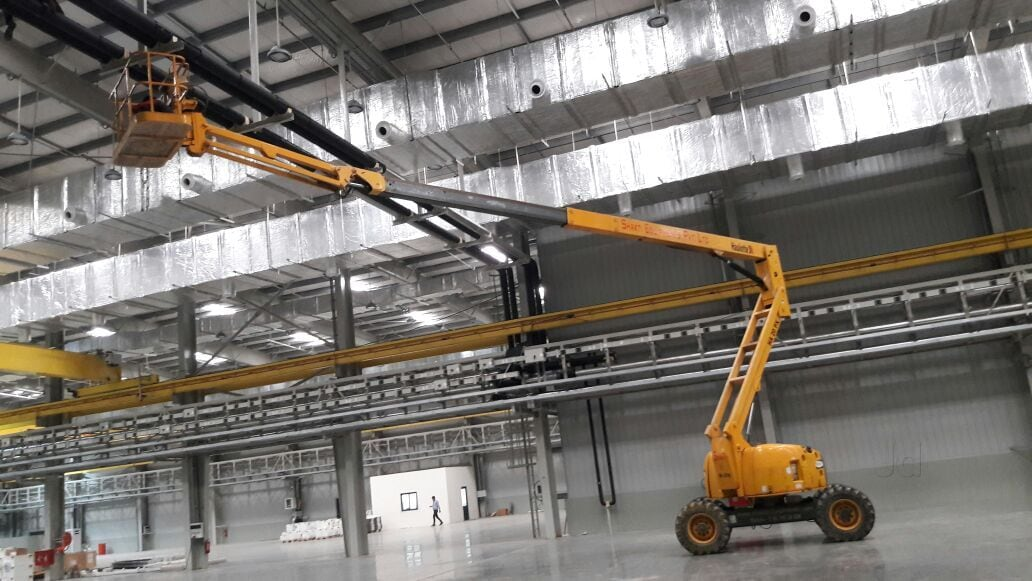 Top 30 Boom Lift On Hire in Bangalore - Best Boom Lift