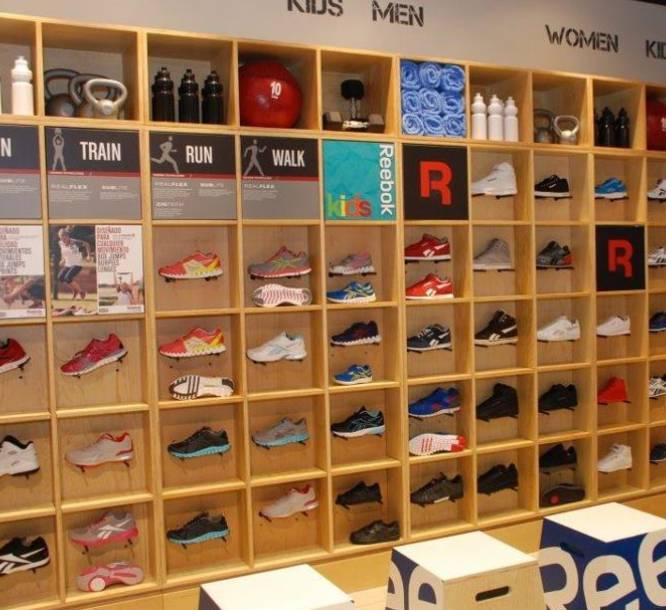 reebok shoes showroom in vadodara