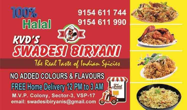 24 Hours Home Delivery Restaurants In Visalakshi Nagar