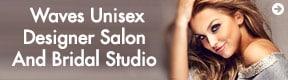 Waves Unisex Designer Salon And Bridal Studio